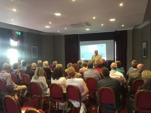 guest speaker at Elle luncheon Club Poole